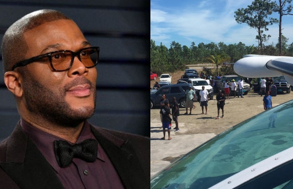 Hurricane Dorian: Tyler Perry uses his private plane to deliver supplies to Bahamas