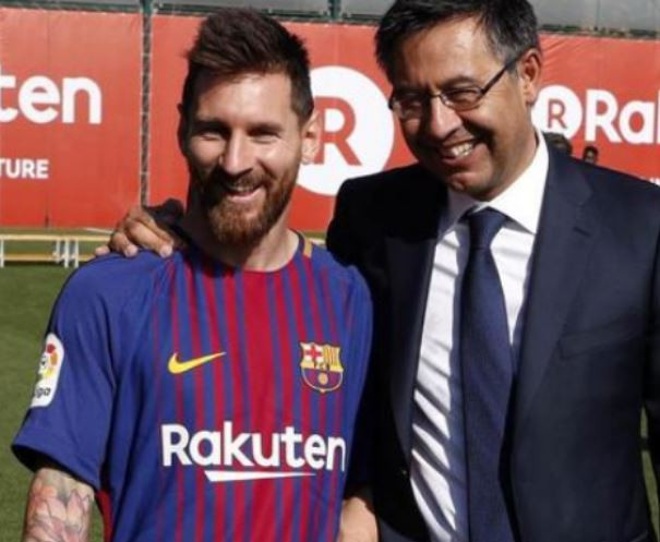 Lionel Messi is free??to?leave? at end of season - Barcelona president,?Josep Maria Bartomeu
