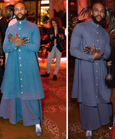 See the outfit Jidenna wore to an event that has got everyone talking on social media