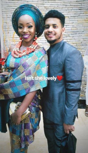 Photos of all the ex-Big Brother Naija housemates that attended BamBam and Teddy A