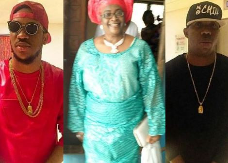 Music duo, Skuki announce the death of their mum