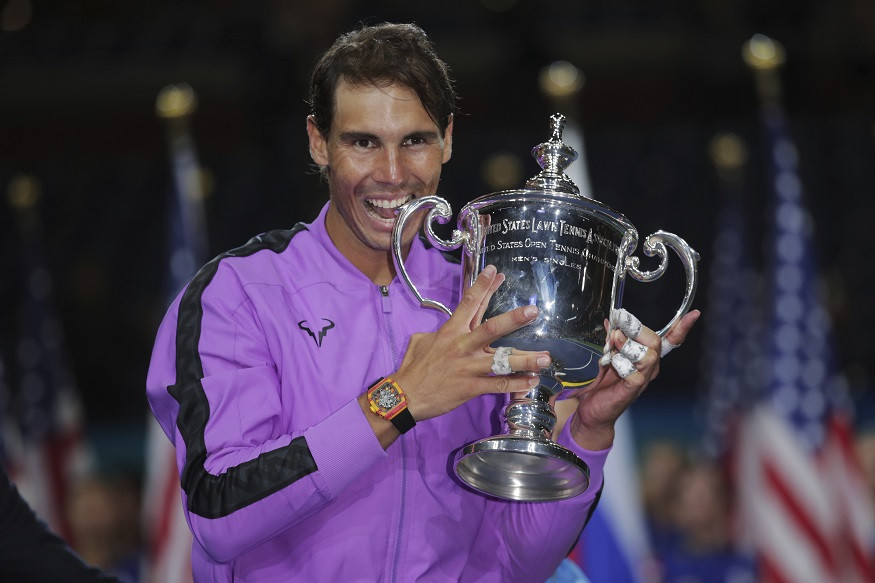 US Open Final 2019: Rafael Nadal defeats Daniil Medvedev in five-hour epic showdown to win his 19th Grand Slam
