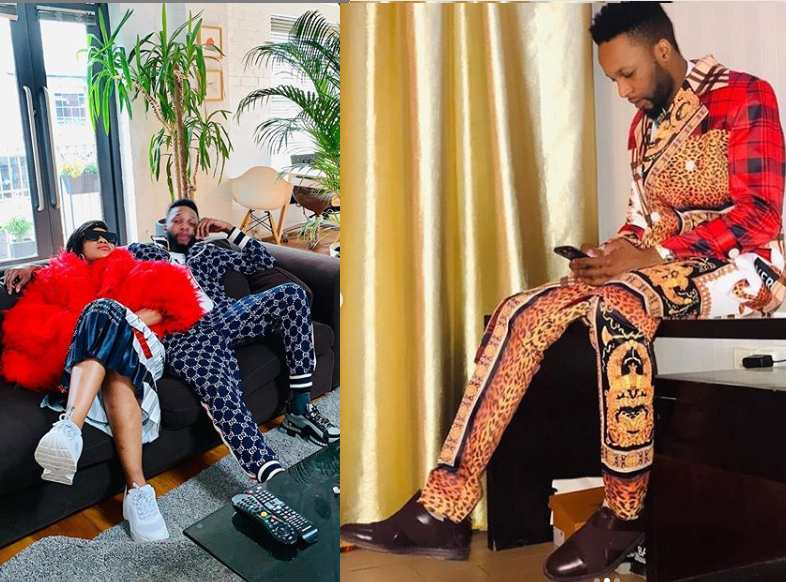Toyin Lawani shares more photos of her handsome Congolese boyfriend DJO Prince, says he