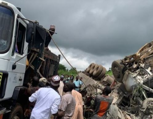 11 people die in a ghastly accident involving a cement truck in Nasarawa State