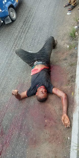 Soldiers shoot one of the armed robbers who trailed Bayelsa Deputy Governor
