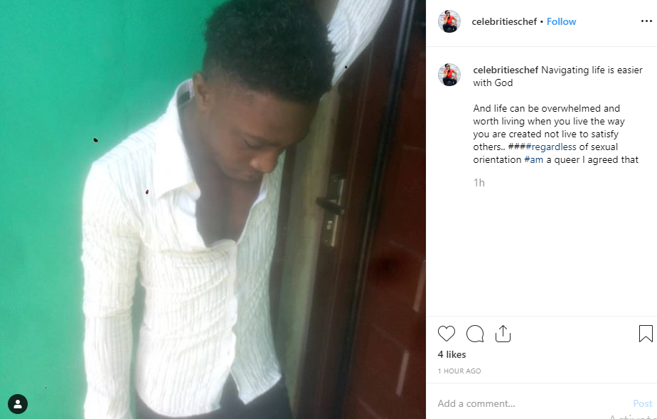 Nigerian gay Chef narrates his ordeal after getting gang raped by some gay men in Lagos