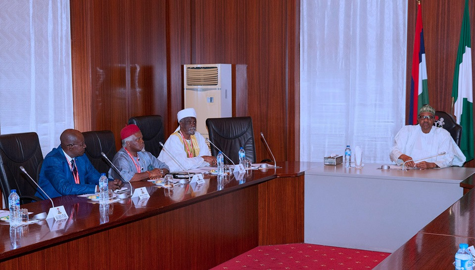 President Buhari addresses the Security Situation in Nigeria
