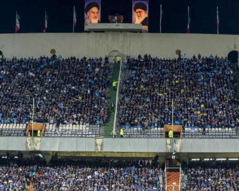 Iranian woman who was denied entry to a football stadium?dies after setting herself on fire