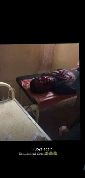 FUOYE: Two students killed after allegedly attacking convoy of Ekiti State First Lady, Bisi Adeleye-Fayemi (graphic photos/video)