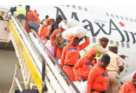 Eight pregnant women among 158 Nigerians evacuated from Libya