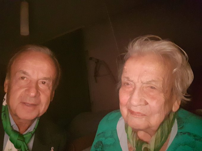 Super Eagles coach Gernot Rohr loses mom?
