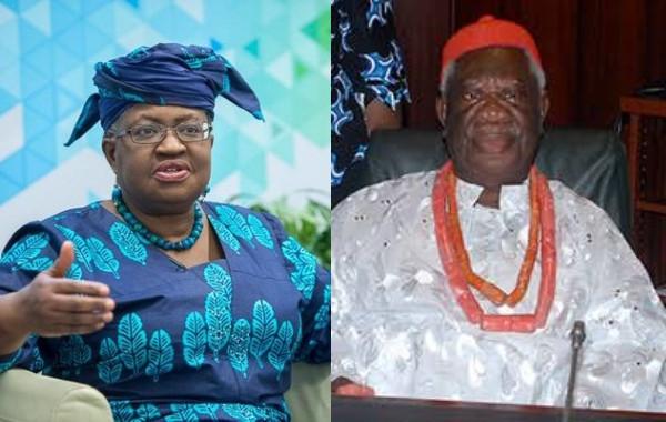 Ngozi Okonjo-Iweala loses her father, Obi (Prof) Chukwuka Okonjo