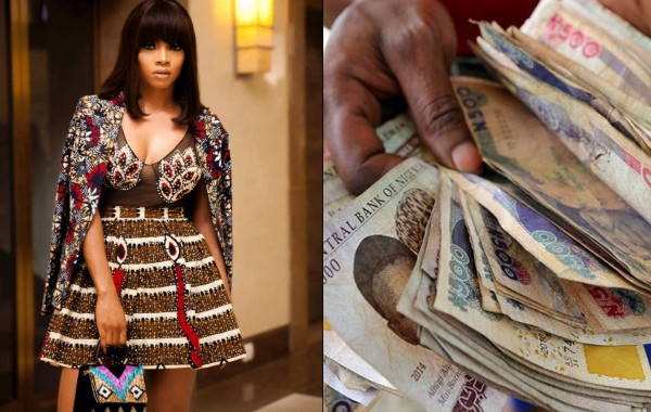 Some men are motivated to work harder by women who love money - Toke Makinwa