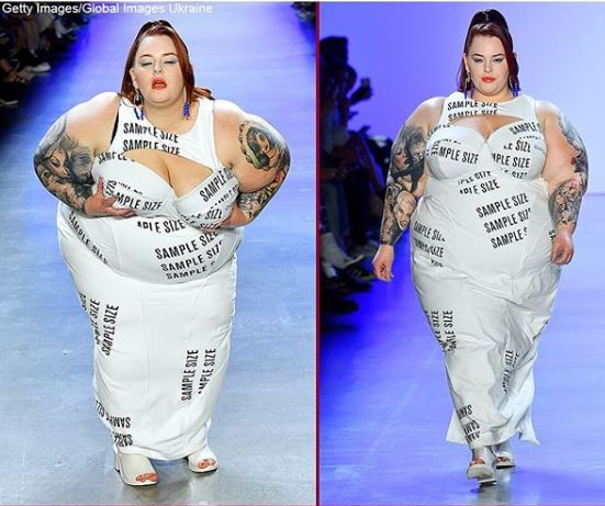 Plus Size Model Tess Holliday Steals The Show At New York Fashion Week Photo
