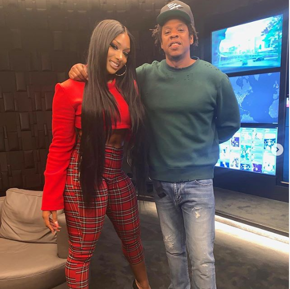 Jay-Z signs Megan Thee Stallion to Roc Nation (Photo/Video)