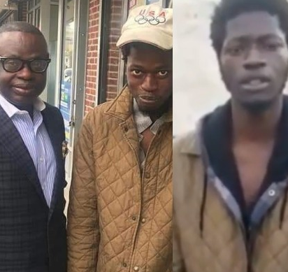 Days after a video of him went viral, help comes for young Nigerian drug addict in the US