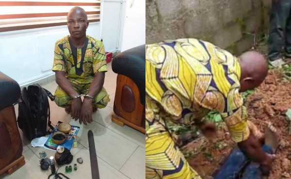 Welder kills bike rider in Niger state, harvests his intestine for ritual