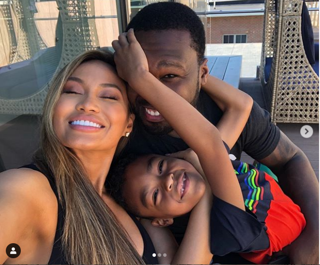50 Cent and ex-girlfriend Daphne Joy pictured together with their son in adorable photos