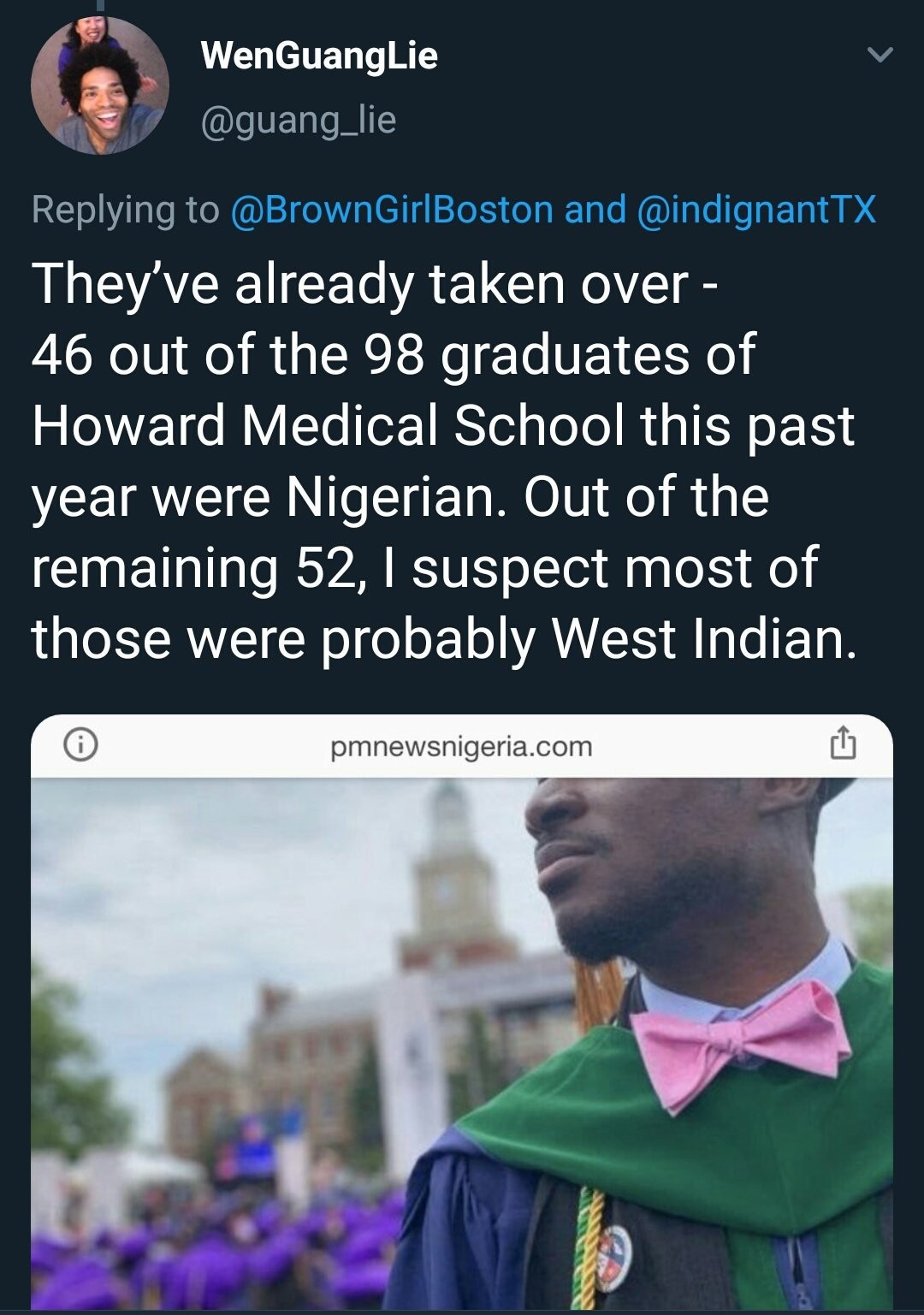 Black Americans complain about being replaced by Nigerians in the American job market