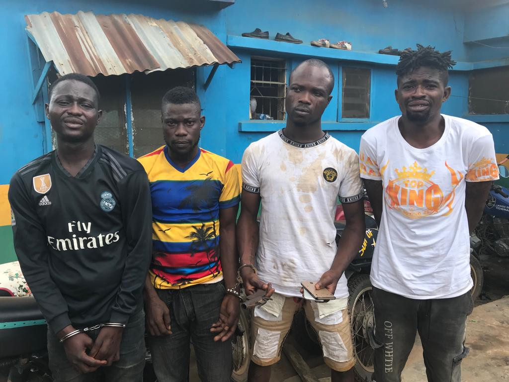 Armed robbery suspects and Cops killer arrested in Lagos
