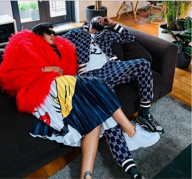 Toyin Lawani puts ladies on blast for sending DMs to her flamboyant Congolese boyfriend, DJO Prince