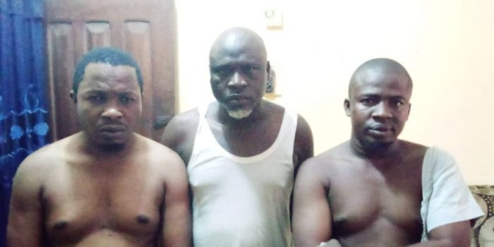 Photo: Ogun police arrest 3 Islamic clerics for fraud, rape