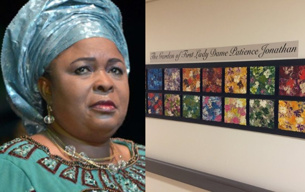 Patience Jonathan accused of being a huge donor to a Canadian hospital