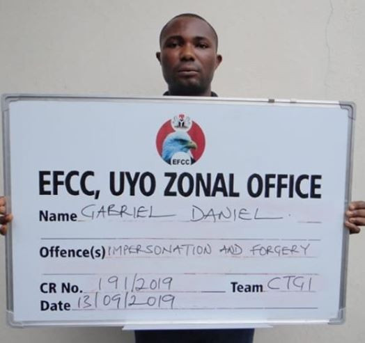 Three man syndicate arrested for Impersonating EFCC, ICPC officials (Photos)