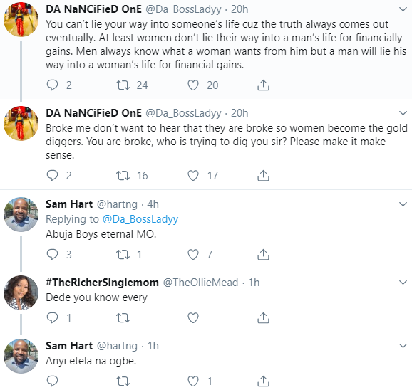 """""""Men are gold diggers too"""" Woman shares her experience"""