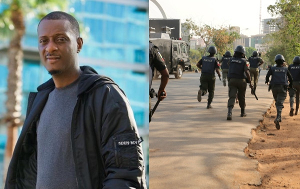ID Cabasa narrates how a policeman slapped him while settling an issue between a Range Rover owner and an Uber driver