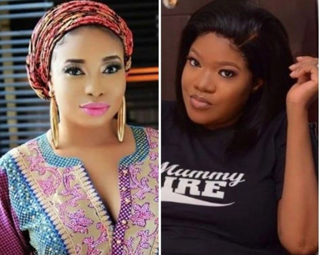 Liz Anjorin insists Toyin Abraham gave birth to her baby in a traditional maternity centre (video)