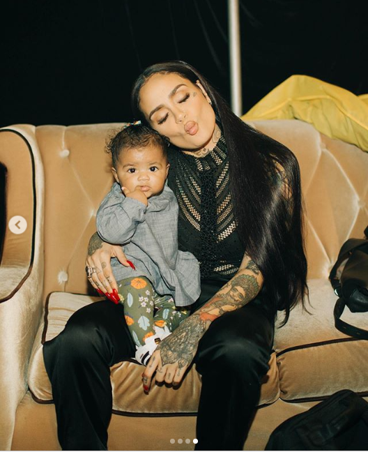 Adorable photos of singer Kehlani and her beautiful baby daughter Adeya