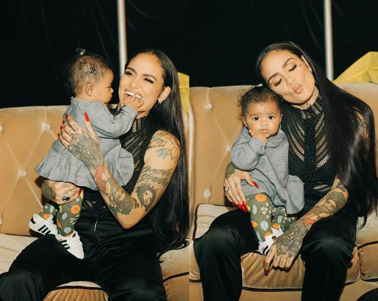 Adorable photos of singer Kehlani and her beautiful baby daughter Adeya