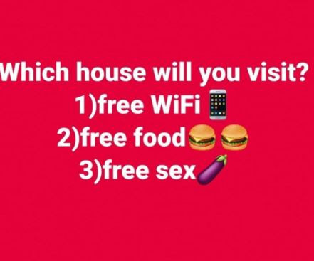 Question of the day: Which of this houses will you visit?