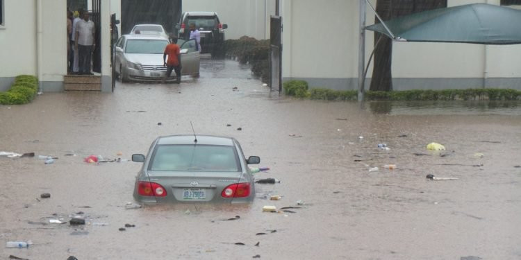Court of Appeal Abuja flooded (photos)