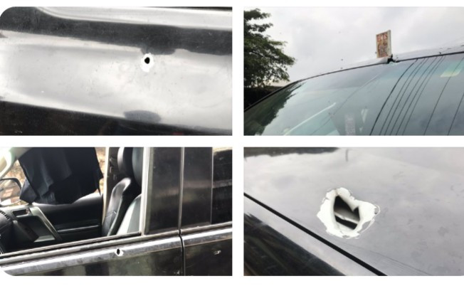 Woman narrates how her dad drove her mother to safety with bullets in his body after he was shot by highway robbers