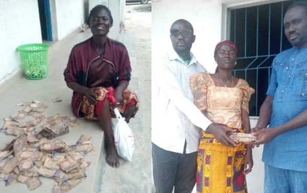 Police recovers N200,000 from mentally challenged woman in Delta (photos)