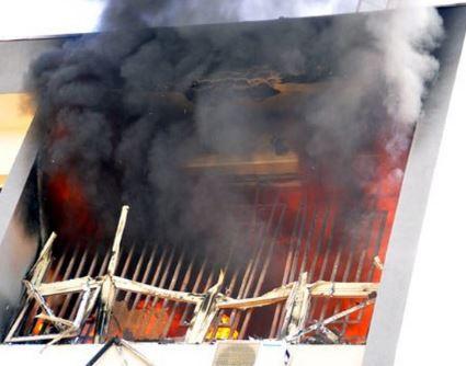 Fire guts World Health Organisation storage facility in Osogbo