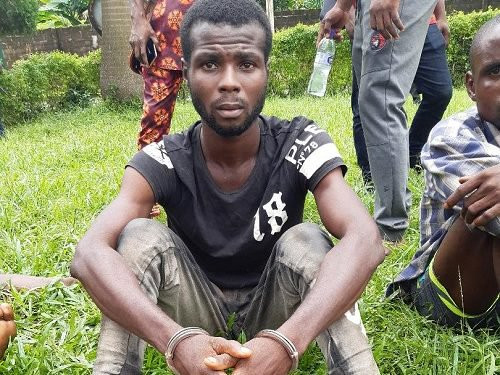 Man who robs prostitutes arrested in Edo (photo)