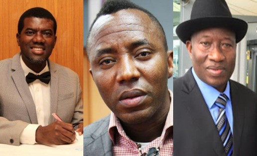 Forgive Sowore and help him if you can - Goodluck Jonathan tells Reno Omokri