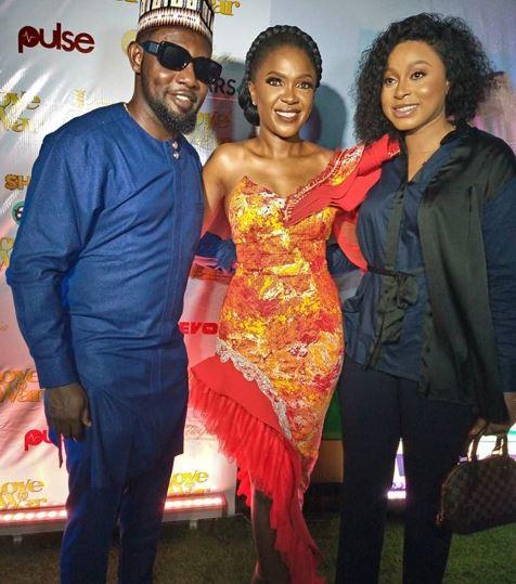 How Toke Makinwa, Funke Akindele, RMD, others turned up for the premiere of Omoni Oboli