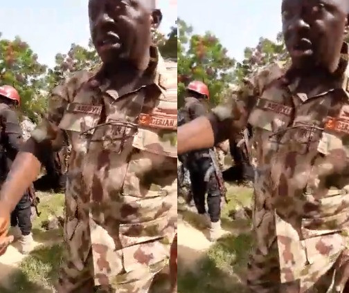 Suspected UNIMAID students who allegedly pose as Boko Haram members to rob fellow students apprehended (video)