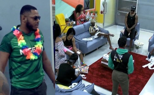 BBNaija: Frodd finally puts up five housemates for eviction with his ultimate veto power (video)