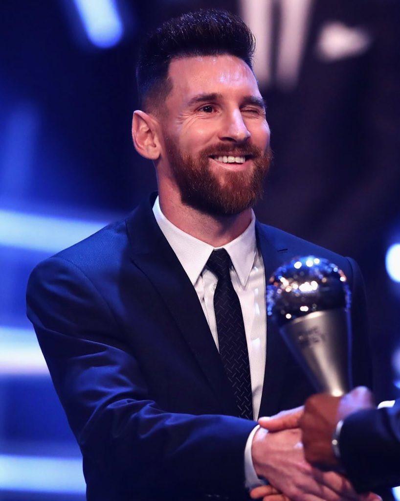 Lionel Messi wins the 2019 FIFA Best Men