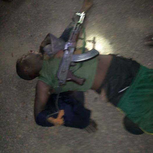 Suspected armed robber shot dead as police foil attack at filling station in Bauchi