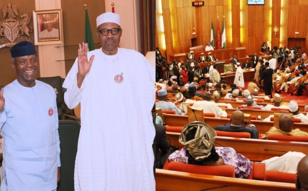 We won?t interfere in alleged Osinbajo and Presidency fight - Senate