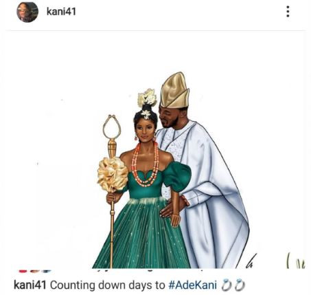 We are counting down days to our wedding - Davido