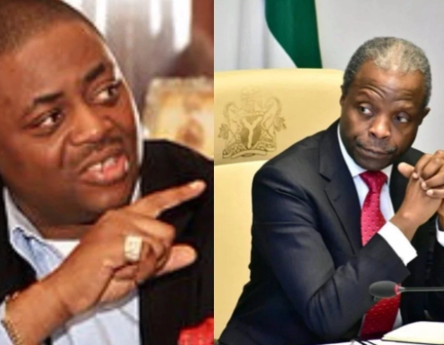 Resign from your position now, Timi Frank will eat you for breakfast- FFK to Osinbajo