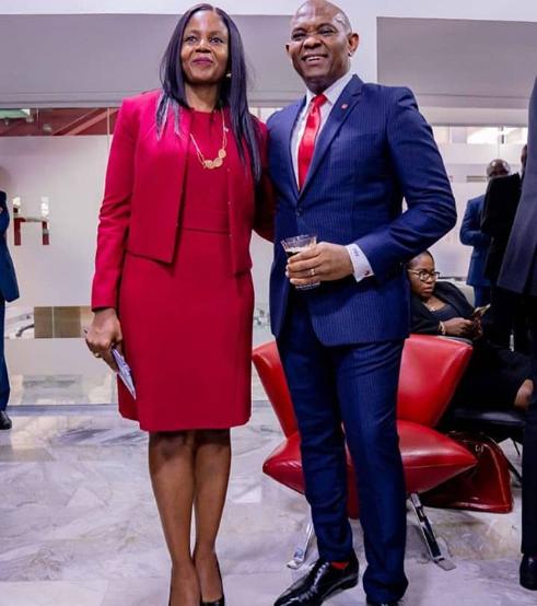 Tony Elumelu celebrates his wife Dr. Awele Elumelu