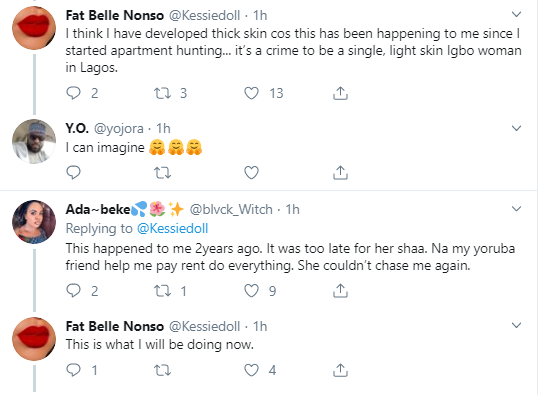 Light-skinned Igbo girl shares her house-hunting woes
